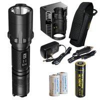 nitecore r25 led tactical police flashlight image